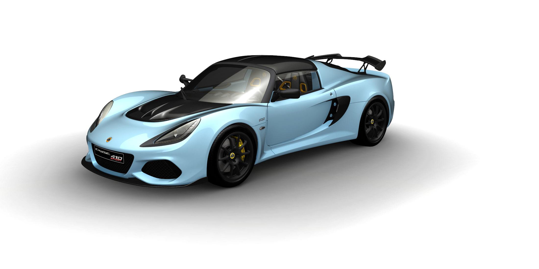 85868c50249e Exige Sport 410 - Lotus Cars